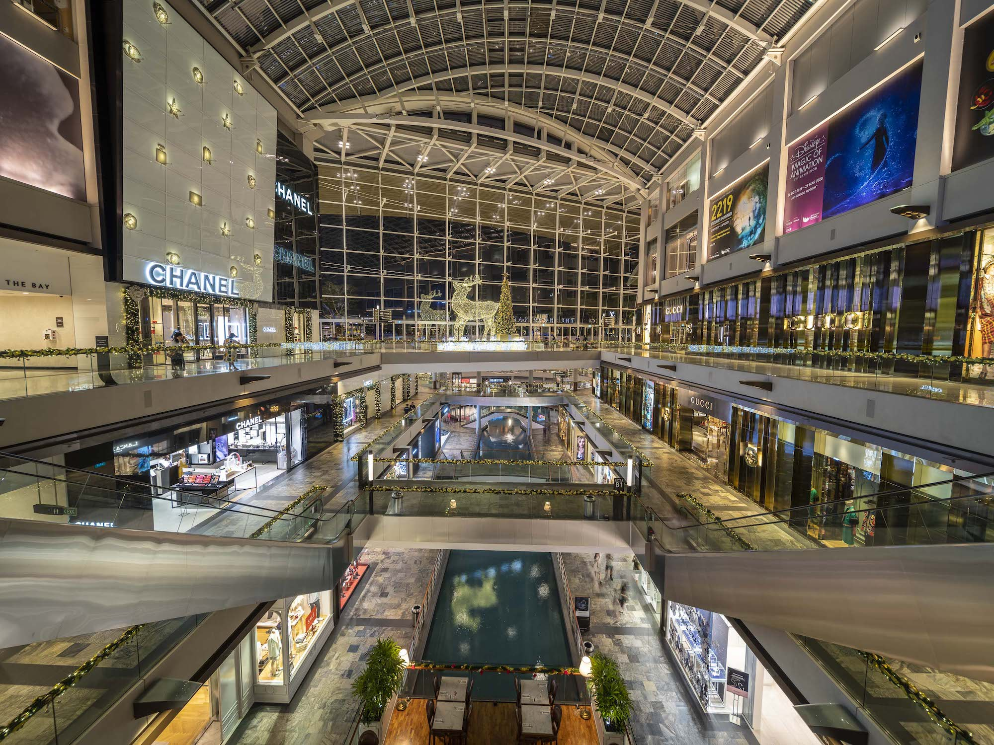 Marina Bay Sands Christmas Lights – Commercial Photography