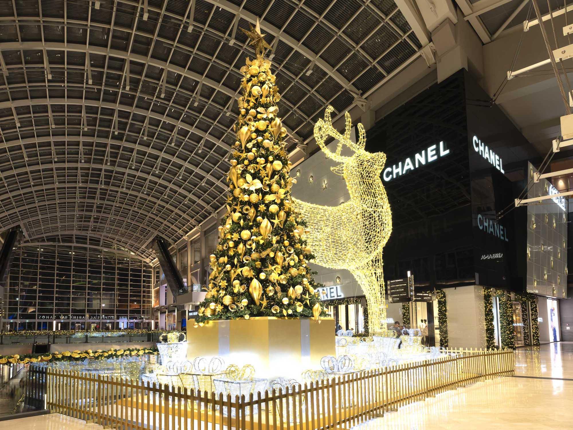 Marina Bay Sands Christmas Decoration – Videography