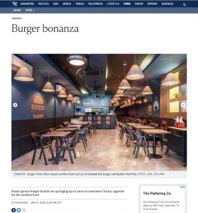 Interior Photography By Jose Jeuland Burger Frites Photograph in Strait Time Issue