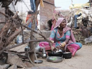 kitchen Gypsy Kalbelia tribe nomad Rajasthan India Documentary Photography Jose Jeuland Photographer print fine art