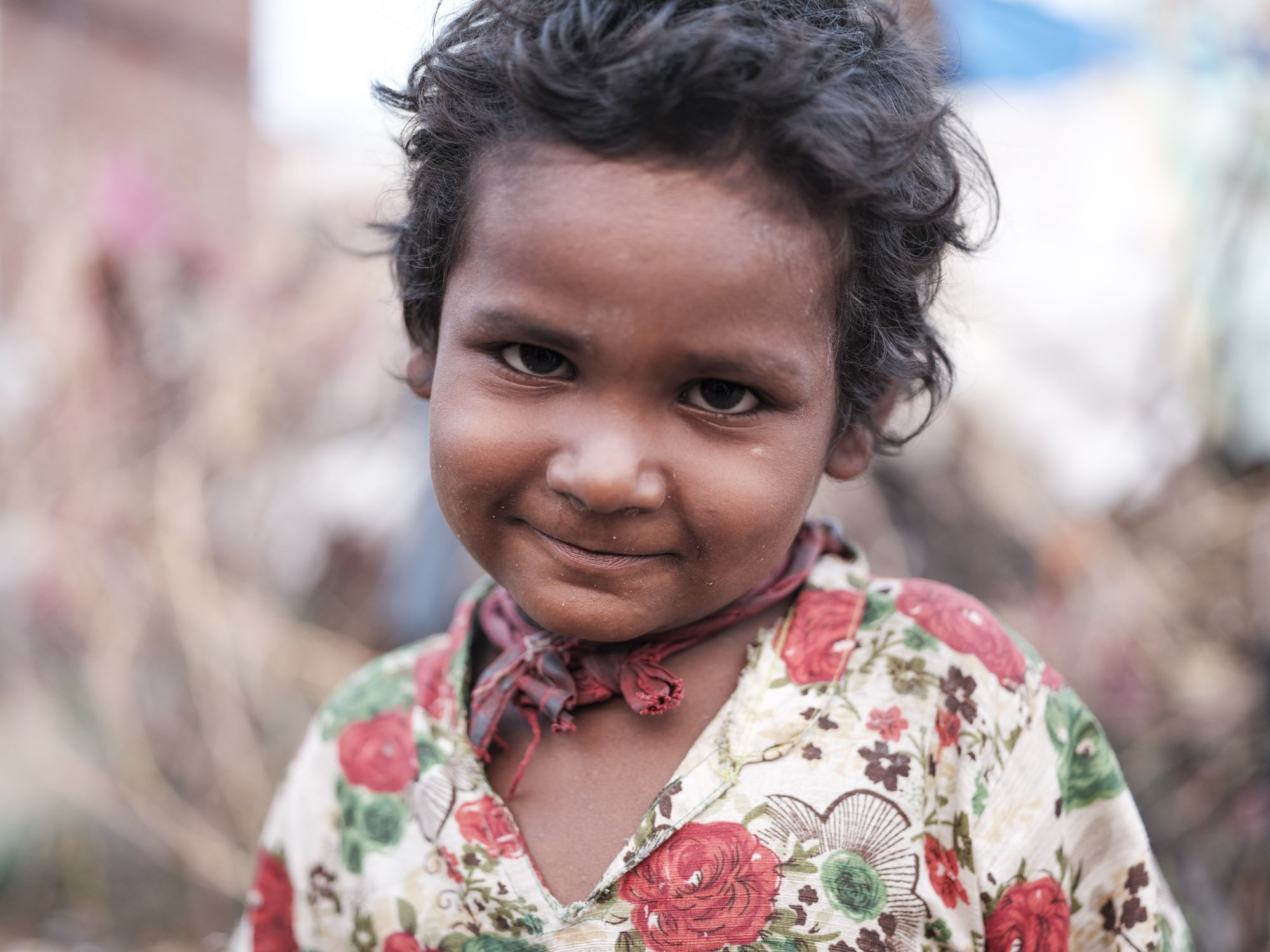 portrait little girl Gypsy Kalbelia tribe nomad Rajasthan India Documentary Photography Jose Jeuland Photographer print fine art
