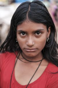 portrait Gypsy Kalbelia tribe nomad Rajasthan India Documentary Photography Jose Jeuland Photographer print fine art