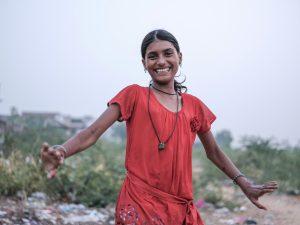 girl dancing Gypsy Kalbelia tribe nomad Rajasthan India Documentary Photography Jose Jeuland Photographer print fine art