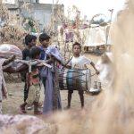 kids boys Gypsy Kalbelia tribe nomad Rajasthan India Documentary Photography Jose Jeuland Photographer print fine art