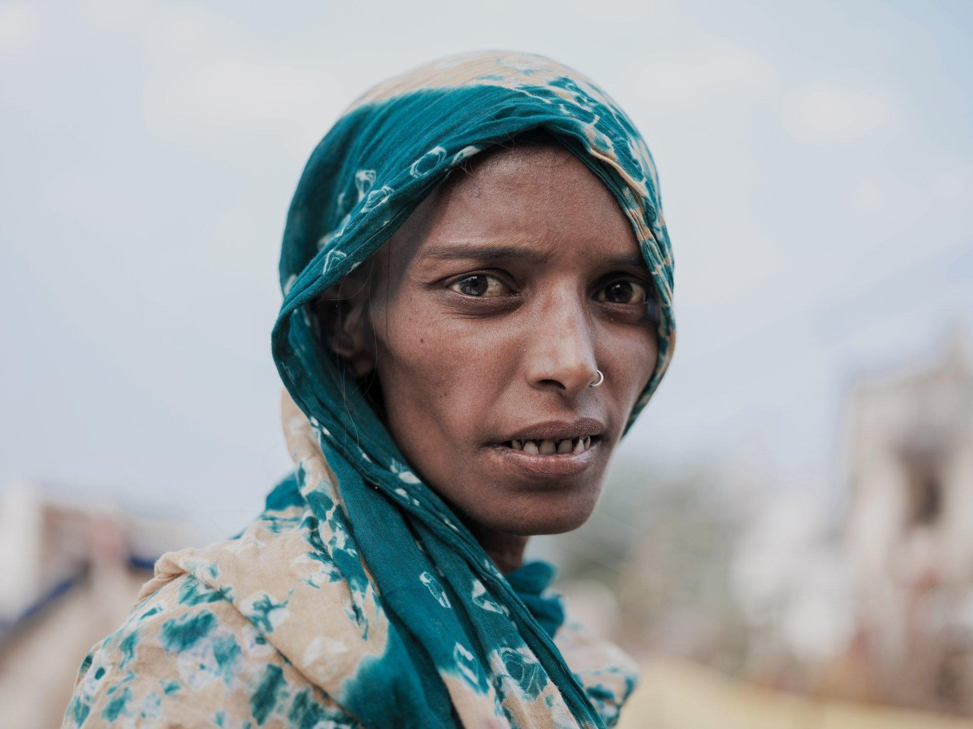 portrait lagy Gypsy Kalbelia tribe nomad Rajasthan India Documentary Photography Jose Jeuland Photographer print fine art