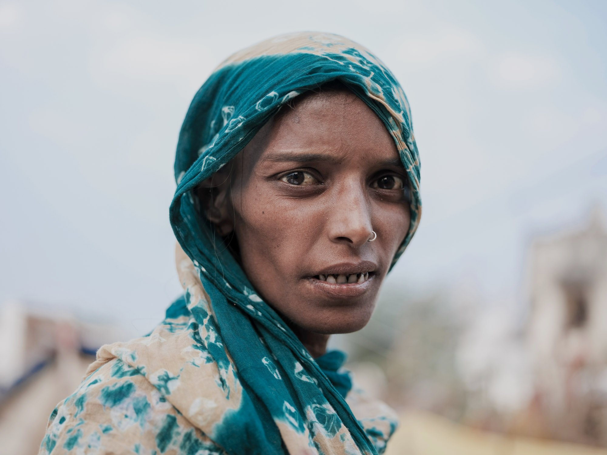 portrait lagy Gypsy Kalbelia tribe nomad Rajasthan India Documentary Photography Jose Jeuland Photographer print fine art