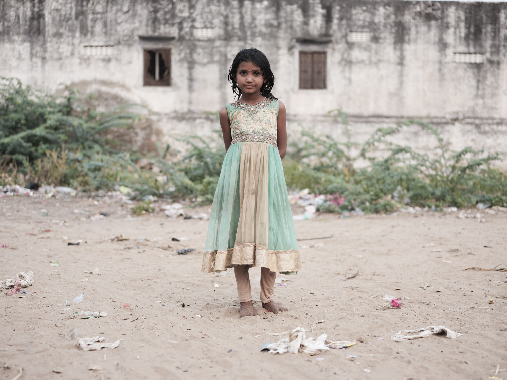 girl Gypsy Kalbelia tribe nomad Rajasthan India Documentary Photography Jose Jeuland Photographer print fine art