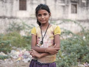 girl portrait Gypsy Kalbelia tribe nomad Rajasthan India Documentary Photography Jose Jeuland Photographer print fine art