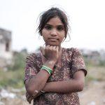 kid portrait Gypsy Kalbelia tribe nomad Rajasthan India Documentary Photography Jose Jeuland Photographer print fine art