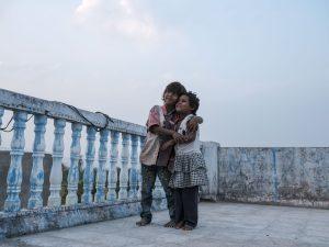 sunset kids Gypsy Kalbelia tribe nomad Rajasthan India Documentary Photography Jose Jeuland Photographer print fine art