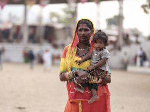 portrait fair Gypsy Kalbelia tribe nomad Rajasthan India Documentary Photography Jose Jeuland Photographer print fine art