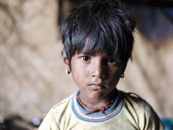 kids Gypsy Kalbelia tribe nomad Rajasthan India Documentary Photography Jose Jeuland Photographer print fine art