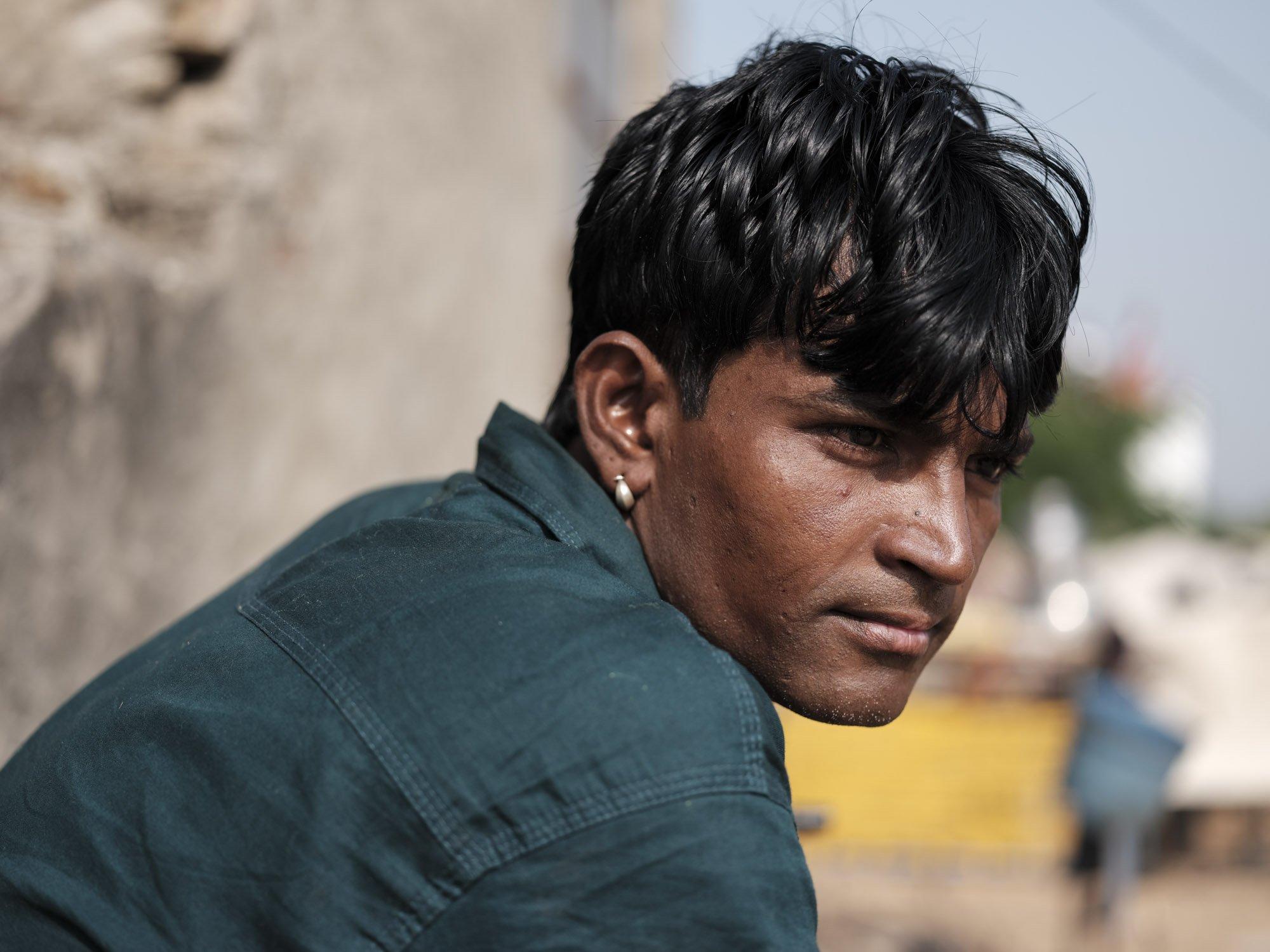 portrait Gypsy Kalbelia tribe nomad Rajasthan India Documentary Photography Jose Jeuland Photographer print fine art