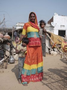 family Gypsy Kalbelia tribe nomad Rajasthan India Documentary Photography Jose Jeuland Photographer print fine art