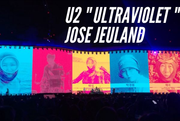 U2 Ultraviolet The Joshua Tree 2019 Seoul Performance Jose Jeuland haenyeo women divers