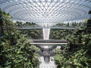 Laowa 17mm f:4 Ultra Wide GFX Zero D lens Fujifilm GFX 100 Tallest Indoor Waterfall at Jewel Changi Airport 1