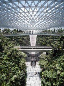 Laowa 17mm f:4 Ultra Wide GFX Zero D lens Fujifilm GFX 100 Tallest Indoor Waterfall at Jewel Changi Airport 3