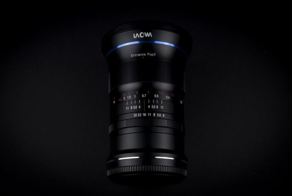 Laowa 17mm f:4 Ultra Wide GFX Zero D lens moyen format Fujifilm GFX 50R 1