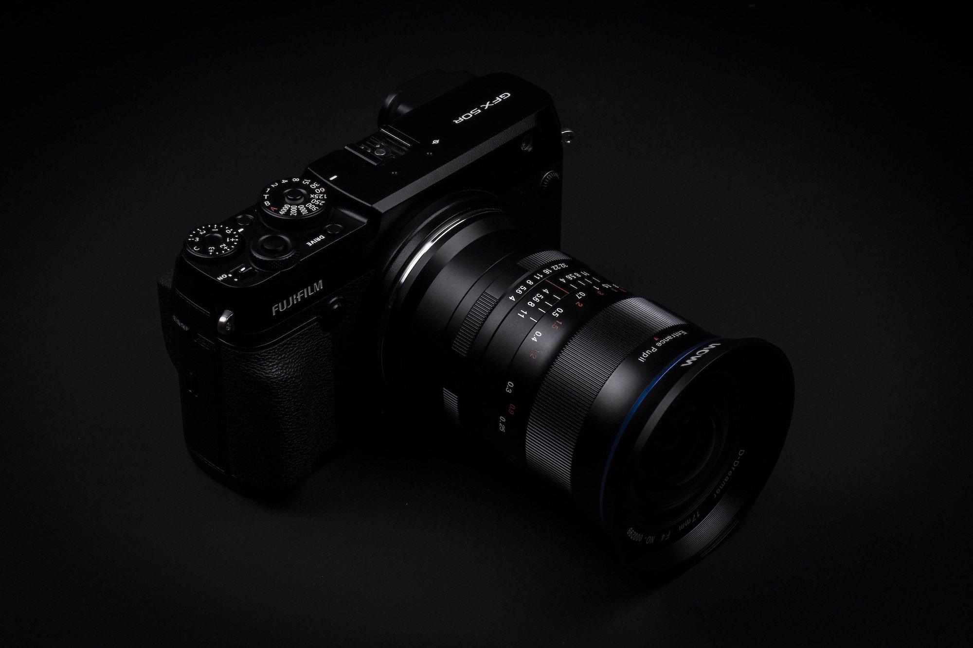 Laowa 17mm f:4 Ultra Wide GFX Zero D lens moyen format Fujifilm GFX 50R 8