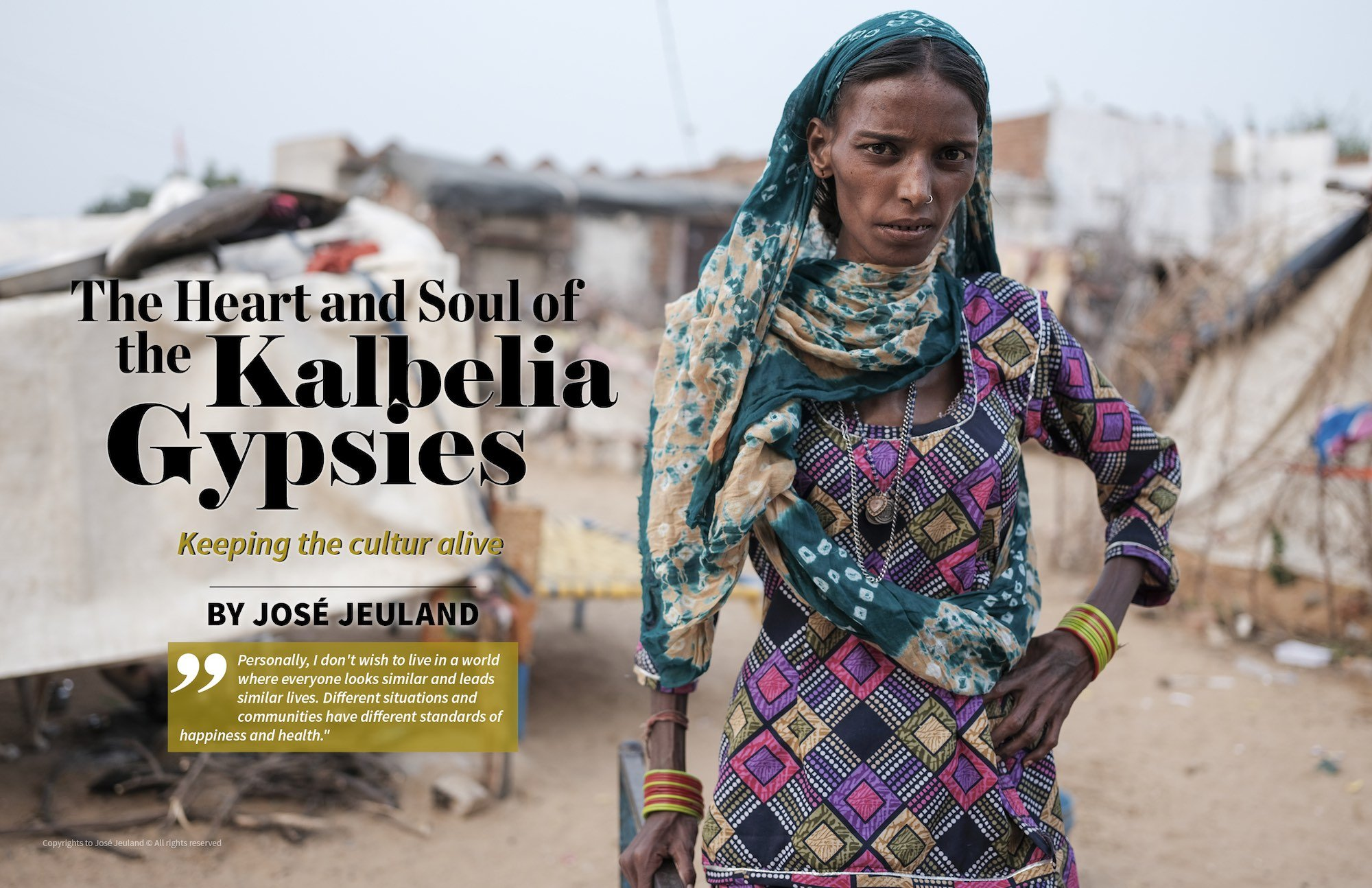 Lens Magazine The Kalbelia Gypsy Gypsies India Rajasthan photography documentary 1