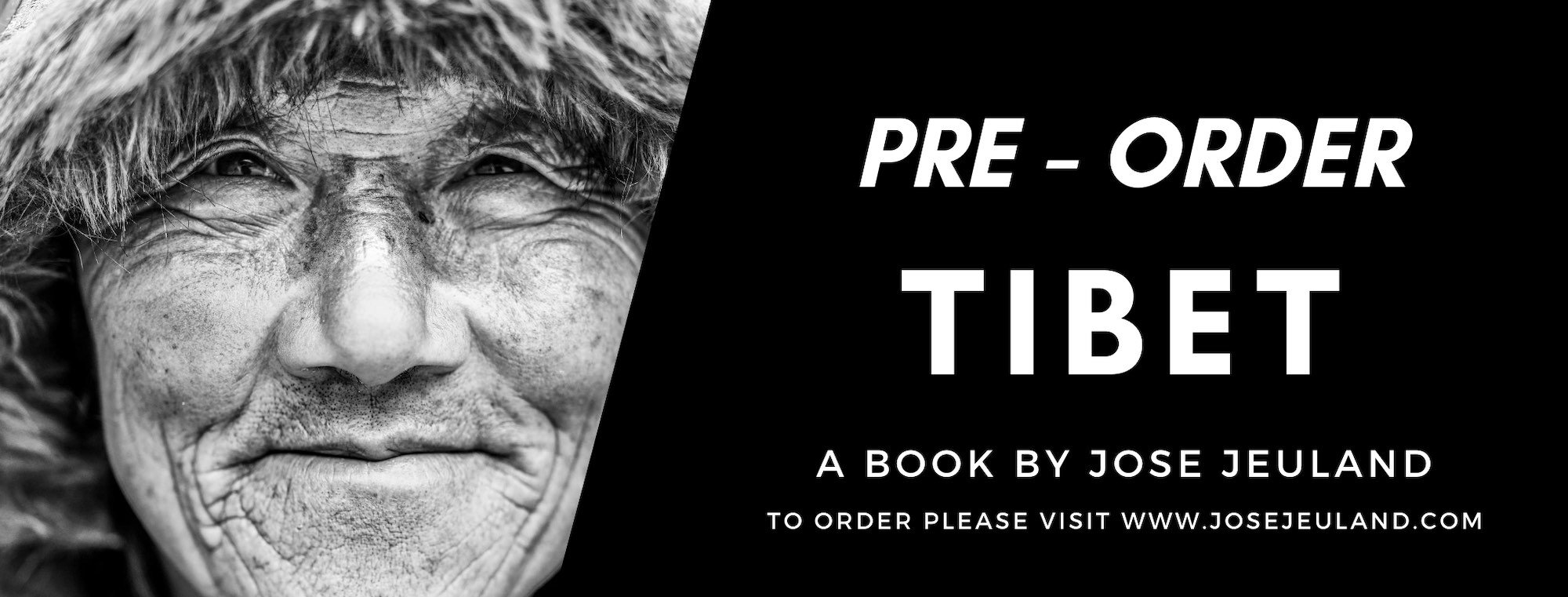 PRE - ORDER TIBET photography book Jose Jeuland copy