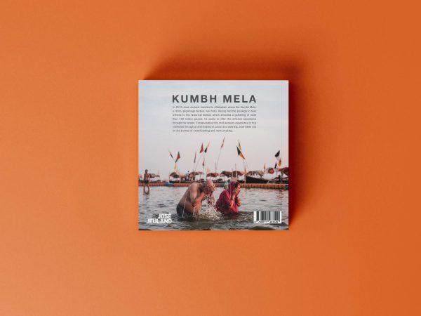 Kumbh mela India allahabad Photography book cover mock up
