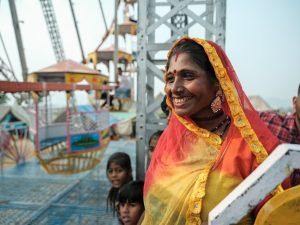 Gypsy lady at the fair Pushkar Travel Documentary Photography India Jose Jeuland-7