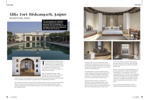 Alila Fort Bishangarh Review Resort Tropical Life Magazine Jose Jeuland photographer Travel story rajasthan India 1