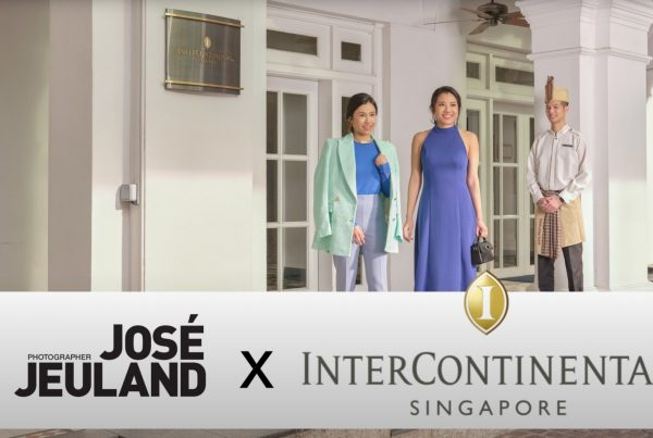 Jose Jeuland Behind the Scenes Video InterContinental Singapore Hospitality Photography 1