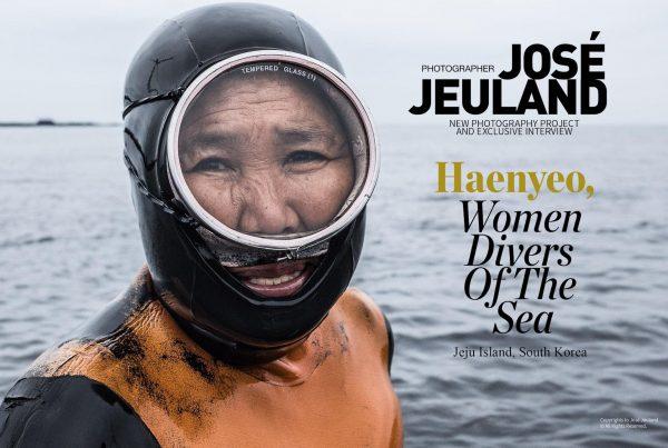Lens Magazine Issue 64 Jan 2020 Jose Jeuland Photography documentary contributor interview Fujifilm x-photographer singapore Haenyeo Jeju Island Women Divers 1-2