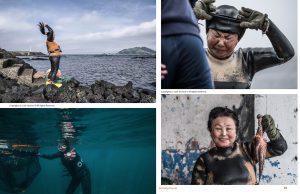 Lens Magazine Issue 64 Jan 2020 Jose Jeuland Photography documentary contributor interview Fujifilm x-photographer singapore Haenyeo Jeju Island Women Divers 11-12