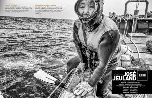Lens Magazine Issue 64 Jan 2020 Jose Jeuland Photography documentary contributor interview Fujifilm x-photographer singapore Haenyeo Jeju Island Women Divers 19-20