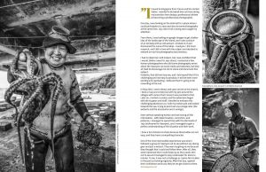 Lens Magazine Issue 64 Jan 2020 Jose Jeuland Photography documentary contributor interview Fujifilm x-photographer singapore Haenyeo Jeju Island Women Divers 5-6