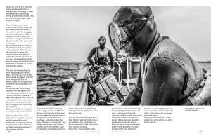 Lens Magazine Issue 64 Jan 2020 Jose Jeuland Photography documentary contributor interview Fujifilm x-photographer singapore Haenyeo Jeju Island Women Divers 7-8
