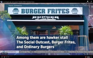 The Straits Times Media Feature Burger Frites Restaurant Photography Jose Jeuland Photographer Singapore-1