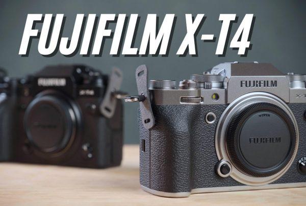 FUJIFILM X-T4 Review Video Cover Jose Jeuland