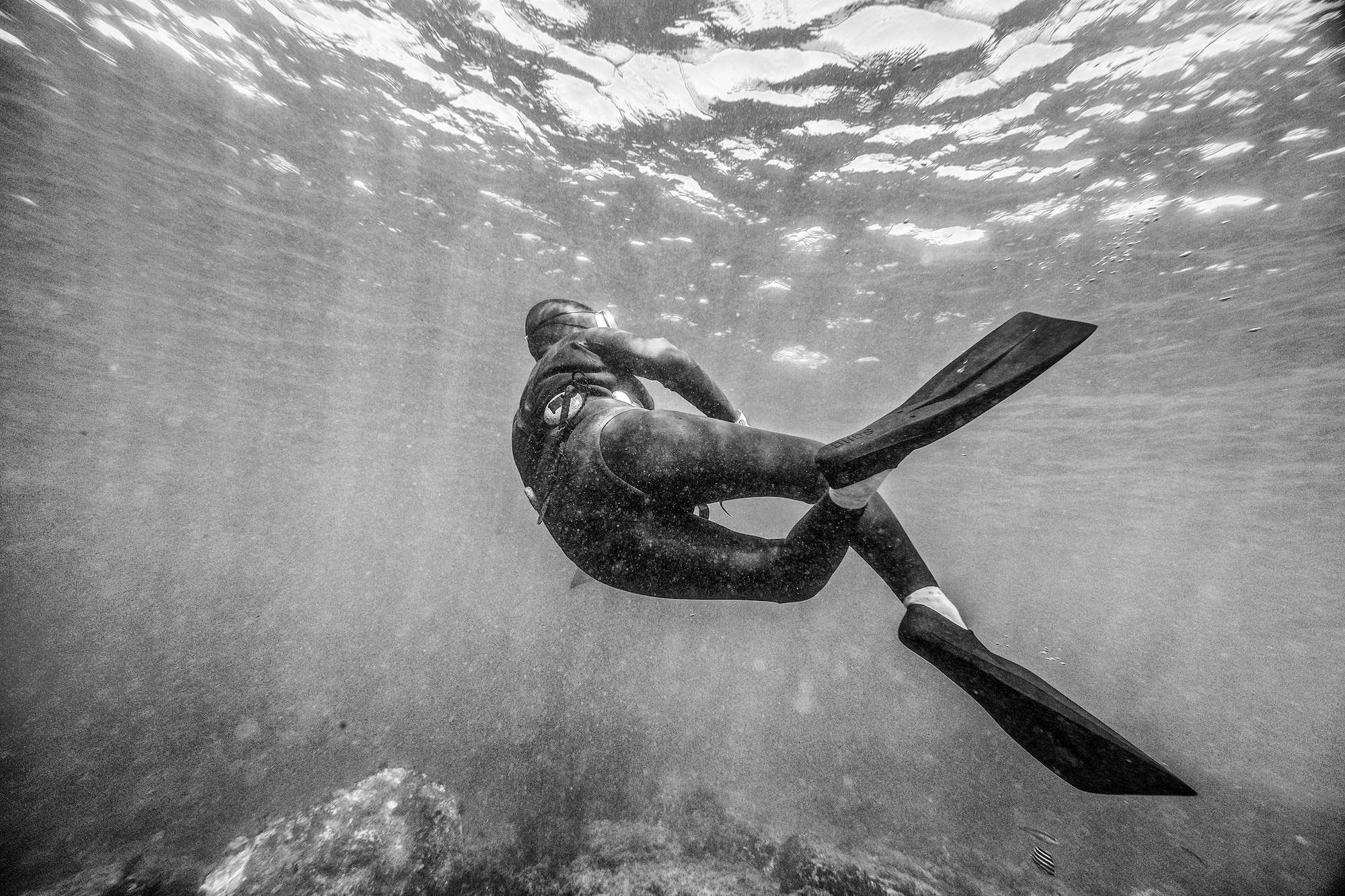 Haenyeo Women Divers Jeju Island Underwater Documentary Photography 5