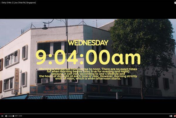 ASMR Video Cover Deity S-Mic 2 Singapore Jose Jeuland COCO Creative Studio
