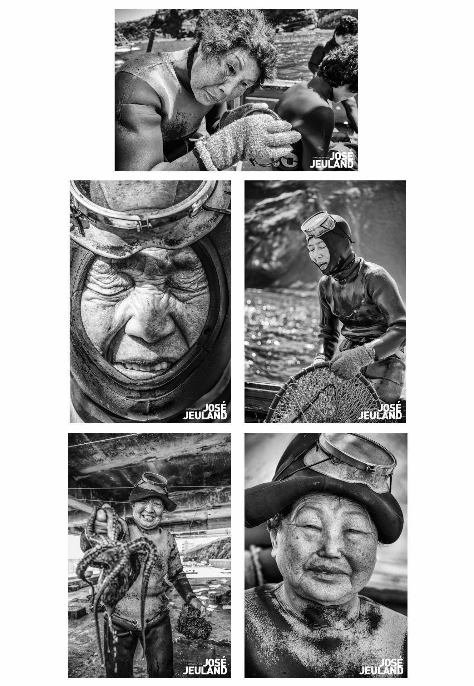 Haenyeo Postcards Monochrome Set Jose Jeuland Singapore 4