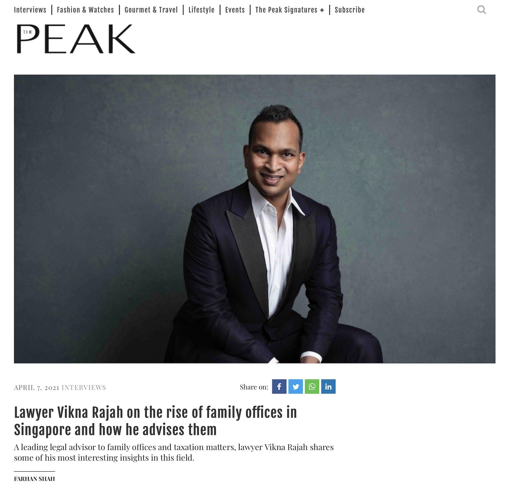 Jose Jeuland photographer singapore The Peak Magazine editorial portrait