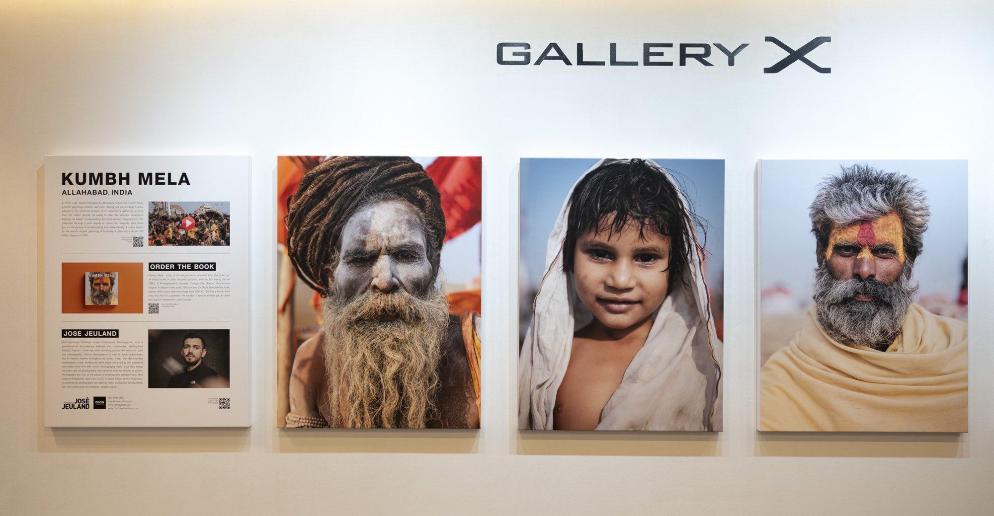 Kumbh Mela Exhibition FUJIFILM Studio Singapore Jose Jeuland 3