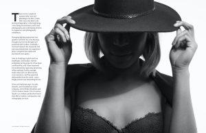 Lens Magazine commercial advertising fashion photographer beauty model black white Singapore 4