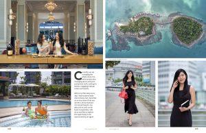 Lens Magazine commercial advertising fashion photographer beauty model black white Singapore 8