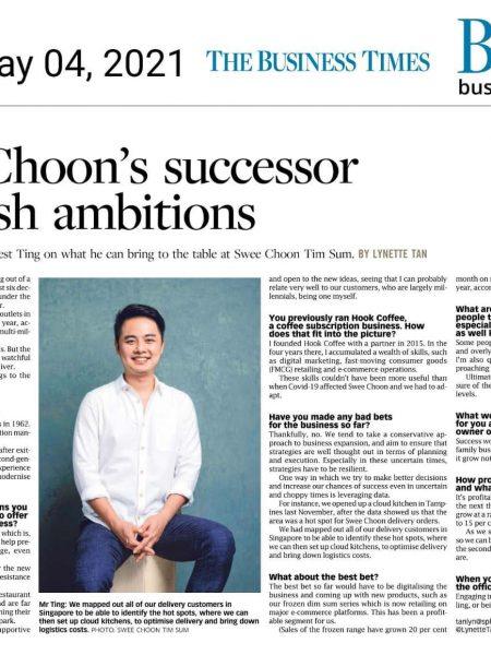 The Business Times Media Feature Headshot Photographer Singapore Jose Jeuland
