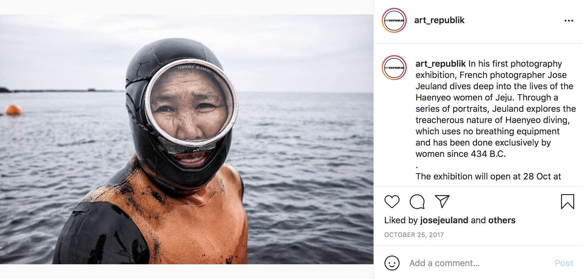 Art Republik Instagram Haenyeo Women Divers Jose Jeuland 1