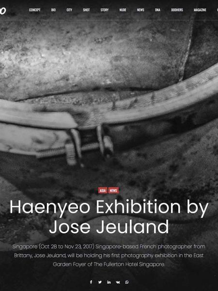 Dodho Photography Magazine Haenyeo Jeju Island Jose Jeuland 1