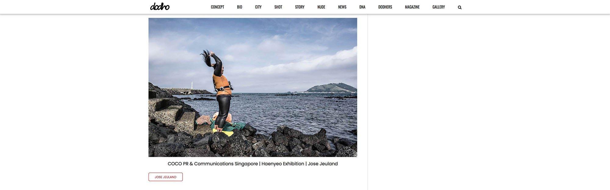 Dodho Photography Magazine Haenyeo Jeju Island Jose Jeuland 13