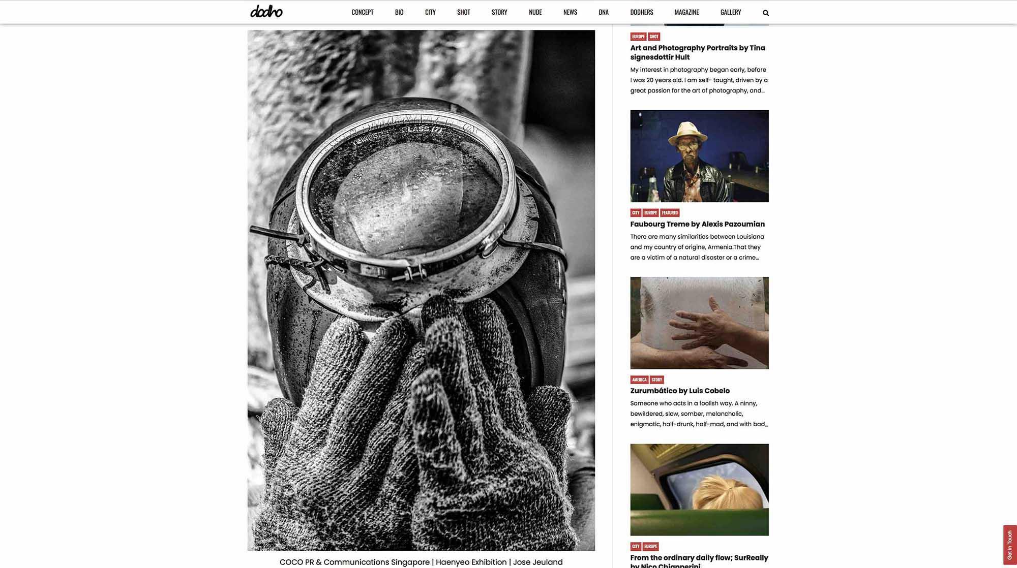 Dodho Photography Magazine Haenyeo Jeju Island Jose Jeuland 5