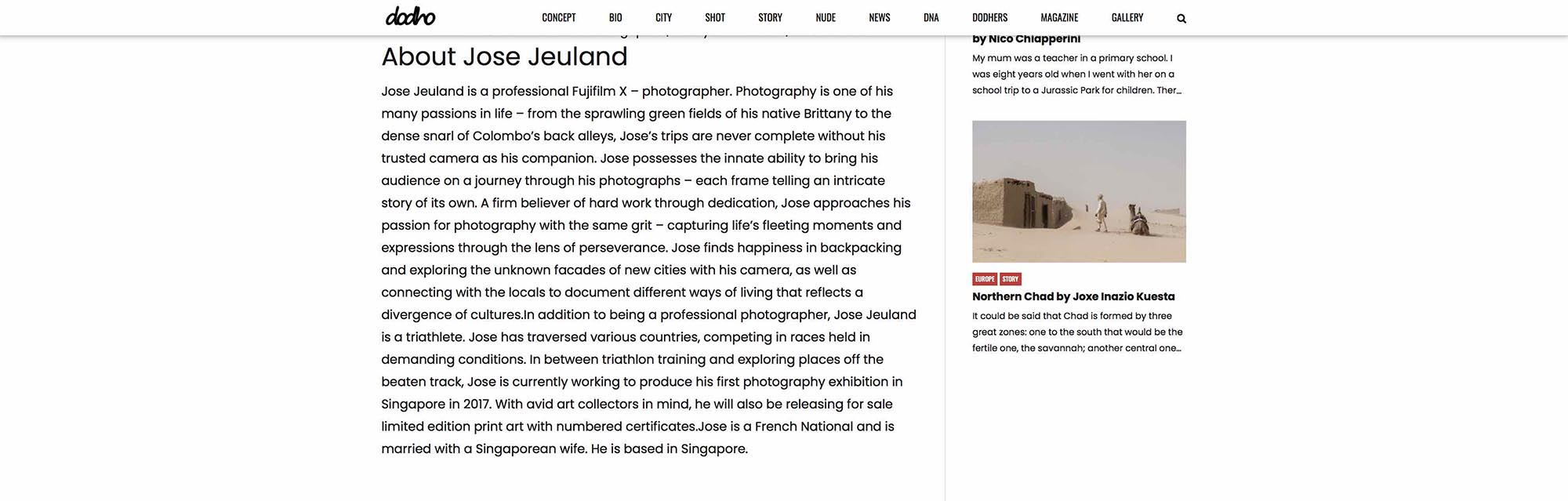 Dodho Photography Magazine Haenyeo Jeju Island Jose Jeuland 6