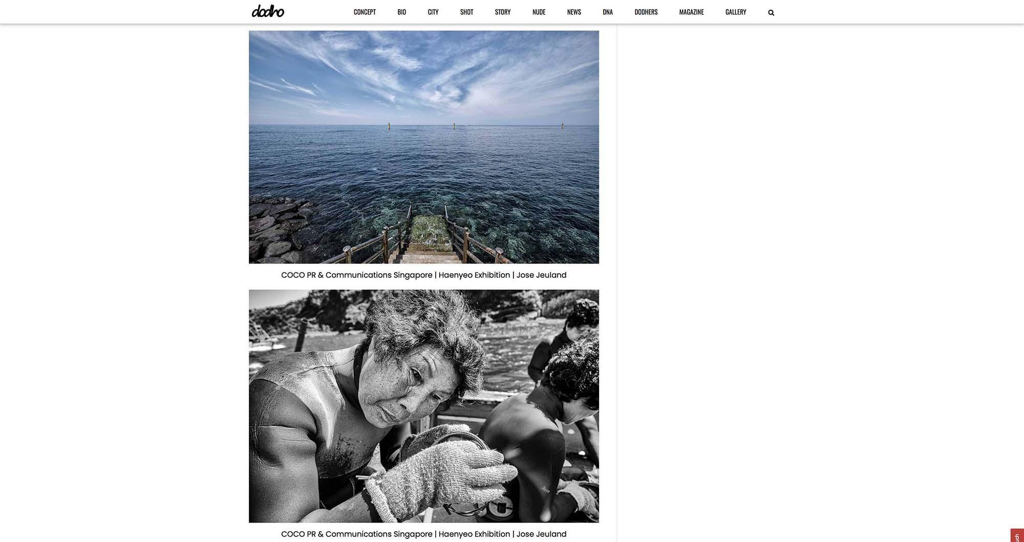 Dodho Photography Magazine Haenyeo Jeju Island Jose Jeuland 8